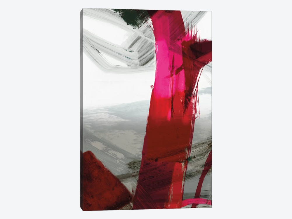 Fuschia I by PI Galerie 1-piece Canvas Art
