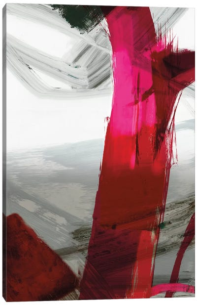 Fuschia I Canvas Art Print
