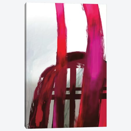Fuschia II Canvas Print #PIG89} by PI Galerie Canvas Artwork