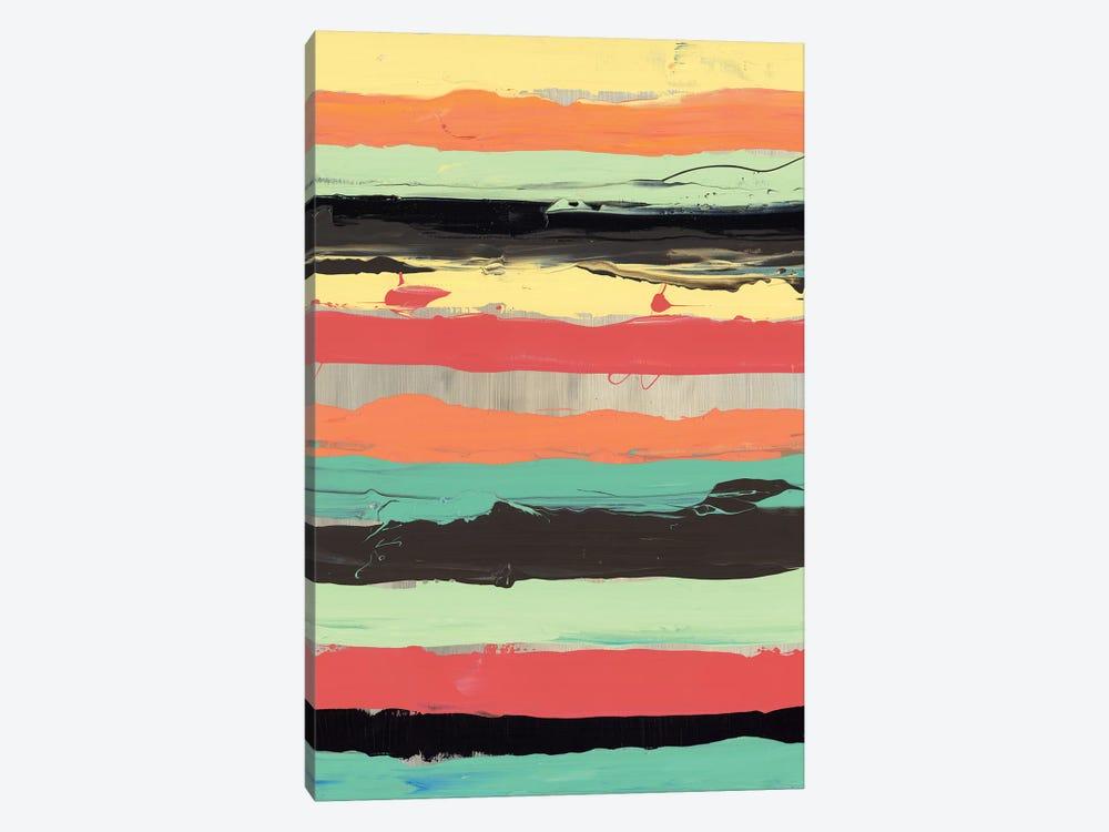 Alt Stripes II by PI Galerie 1-piece Canvas Wall Art