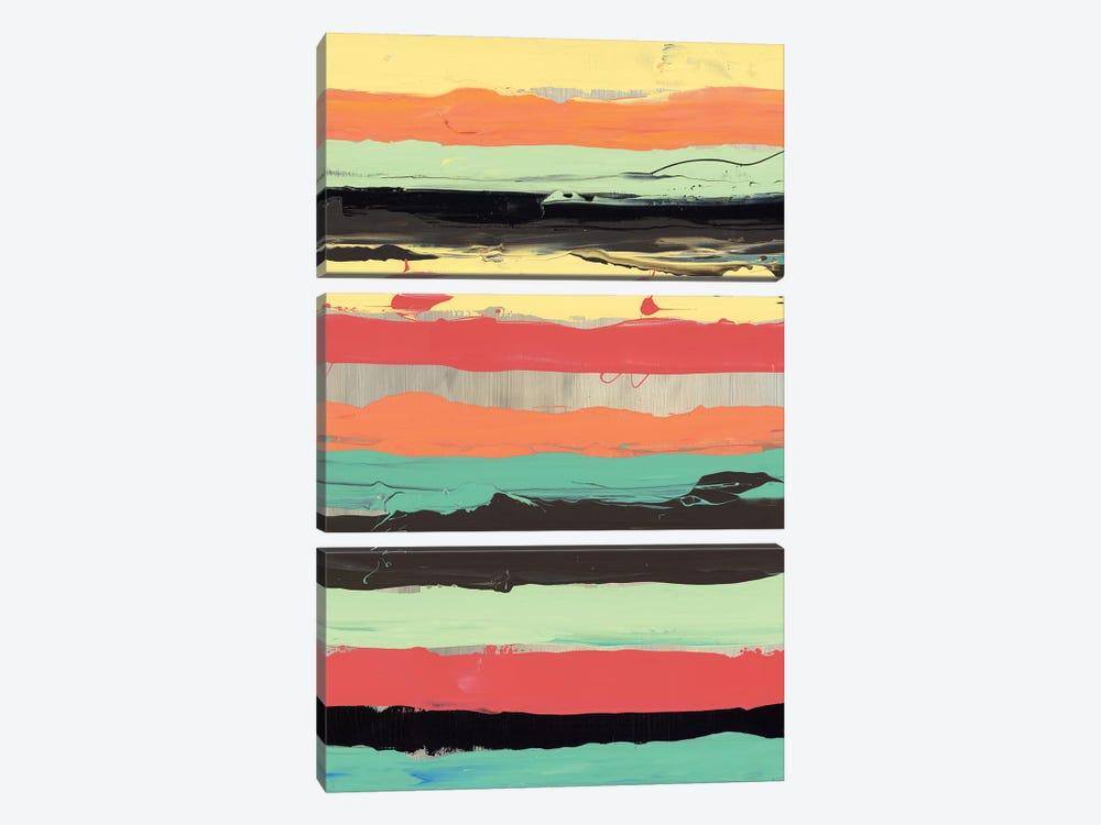 Alt Stripes II by PI Galerie 3-piece Canvas Art