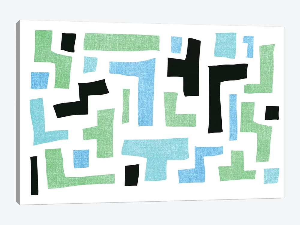Geo I by PI Galerie 1-piece Canvas Art Print