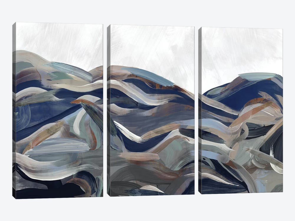 Gesture Land I by PI Galerie 3-piece Canvas Art