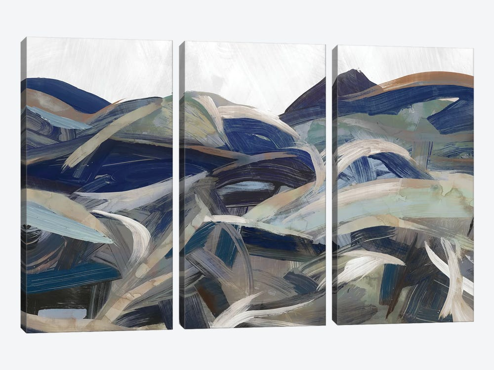 Gesture Land II by PI Galerie 3-piece Canvas Art Print