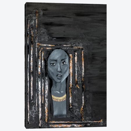 Lady Omen Canvas Print #PII10} by Piia Pievilainen Art Print