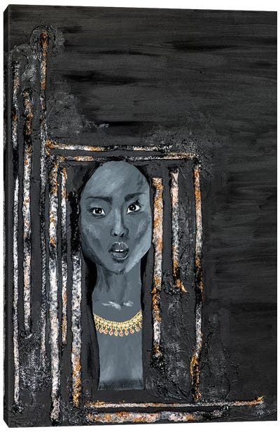Lady Omen Canvas Art Print