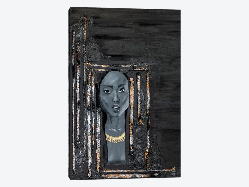 Lady Omen by Piia Pievilainen 1-piece Canvas Wall Art