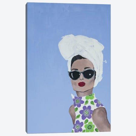 Lady Riviera 3-Piece Canvas #PII13} by Piia Pievilainen Art Print