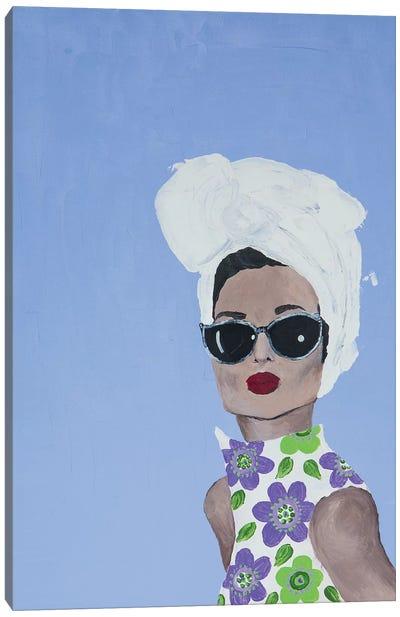Lady Riviera Canvas Art Print