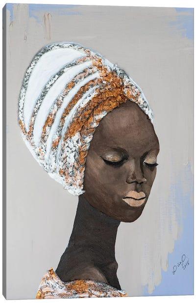 Lady Wonder Canvas Art Print
