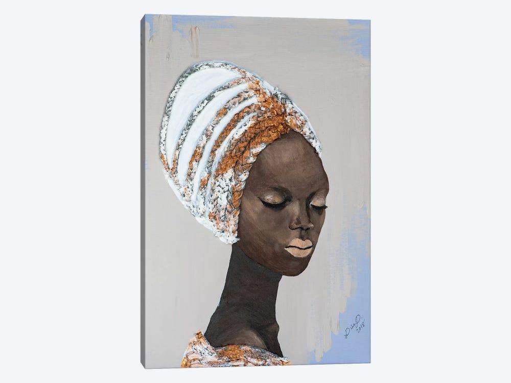 Lady Wonder by Piia Pievilainen 1-piece Canvas Art Print