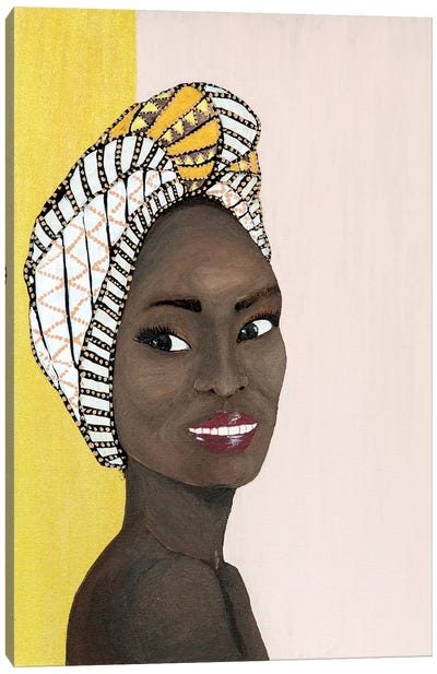 Lady Chiquitita Canvas Art Print