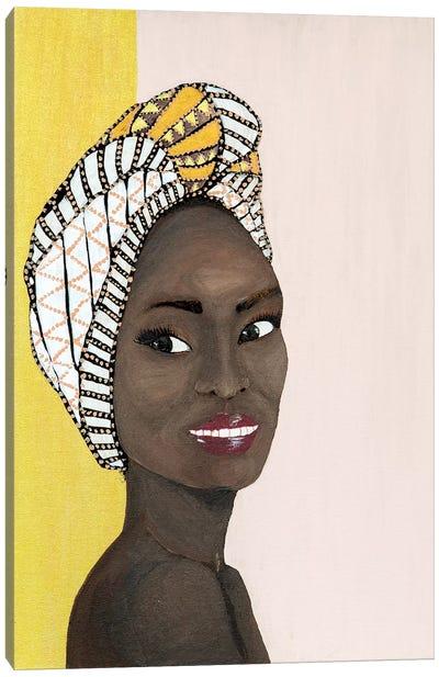 Lady Chiquitita Canvas Art Print