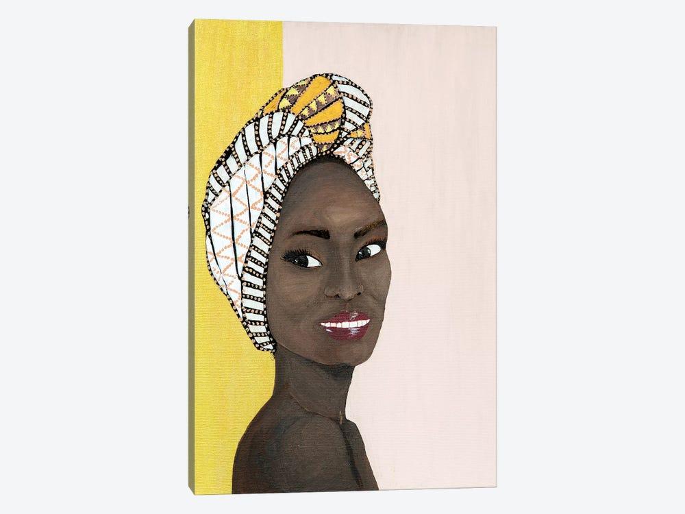Lady Chiquitita by Piia Pievilainen 1-piece Canvas Print