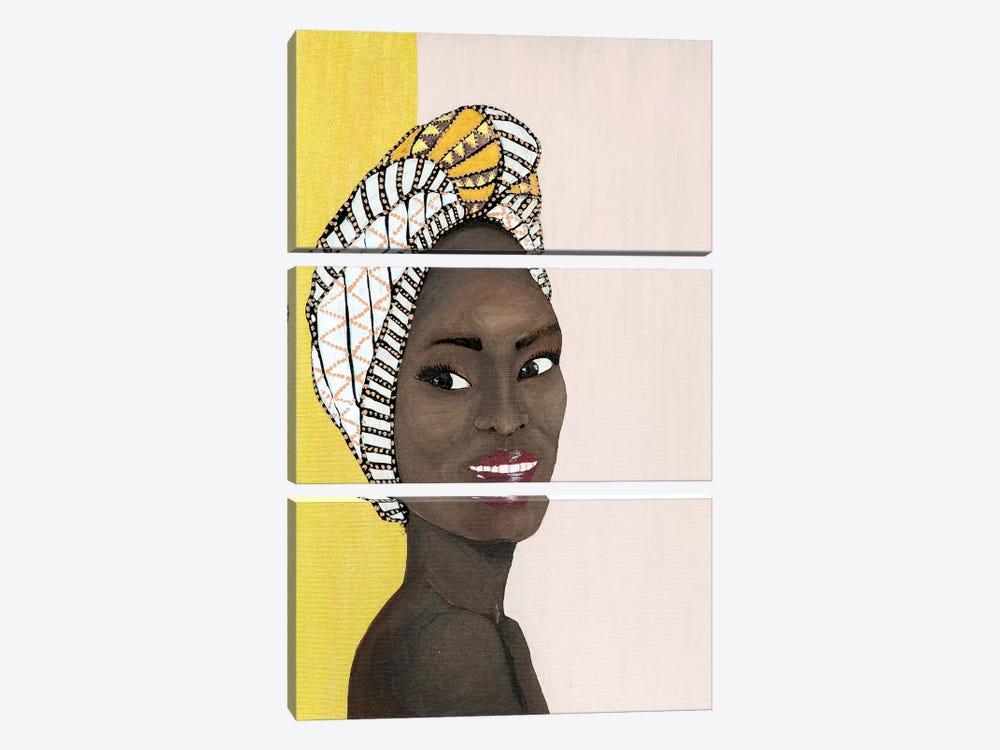 Lady Chiquitita by Piia Pievilainen 3-piece Art Print