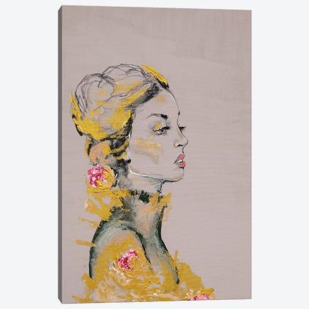 Lady Dakota 3-Piece Canvas #PII19} by Piia Pievilainen Canvas Print