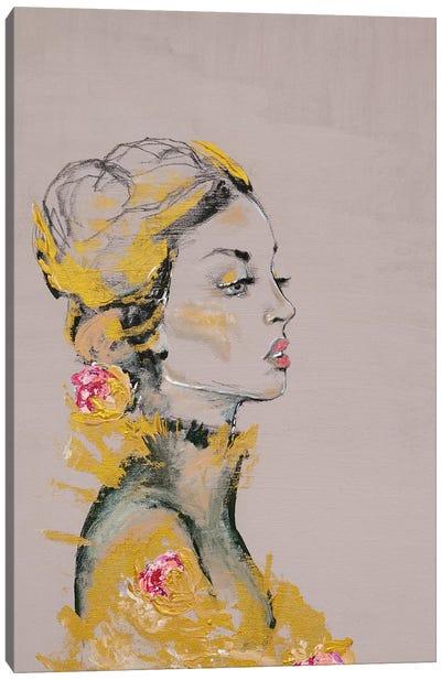 Lady Dakota Canvas Art Print