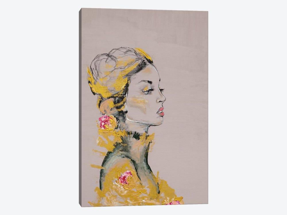 Lady Dakota by Piia Pievilainen 1-piece Canvas Art Print
