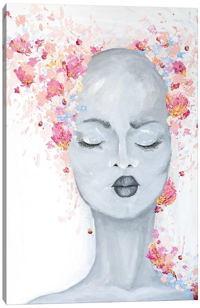 Lady Bold and Beautiful Canvas Art Print