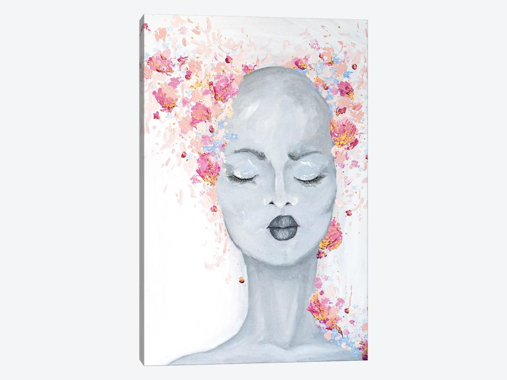 Lady Bold and Beautiful by Piia Pievilainen 1-piece Art Print