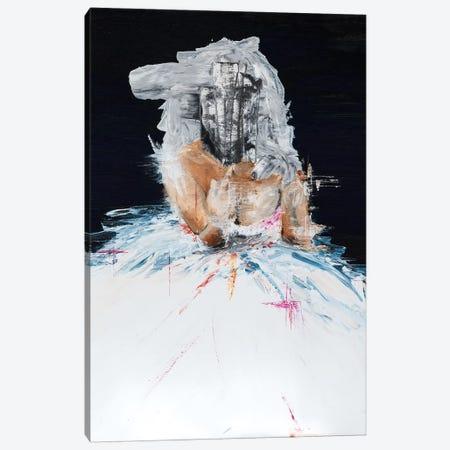 Lady Drama Canvas Print #PII20} by Piia Pievilainen Canvas Art