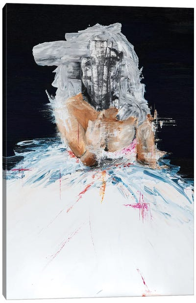Lady Drama Canvas Art Print