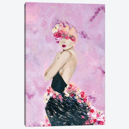 Lady Grace Canvas Print #PII21} by Piia Pievilainen Canvas Art