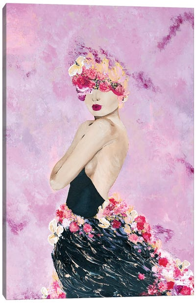 Lady Grace Canvas Art Print