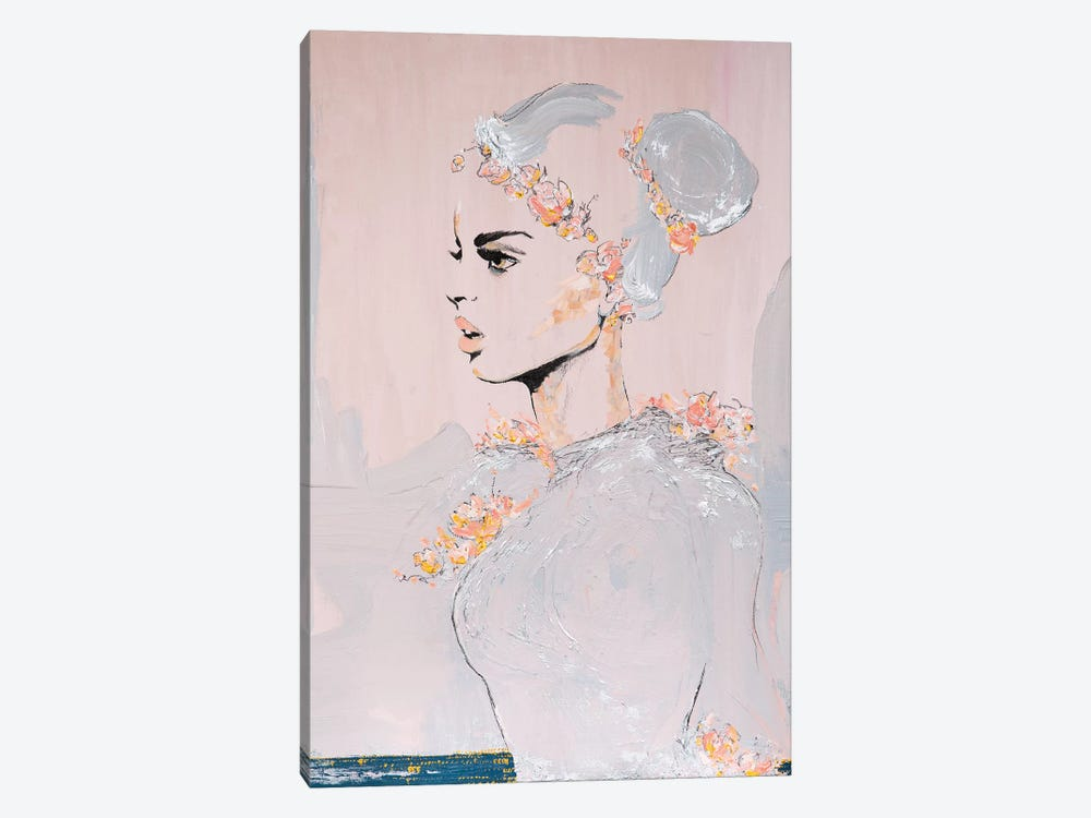 Lady Highness by Piia Pievilainen 1-piece Canvas Artwork
