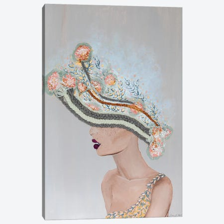 Lady Martha Canvas Print #PII24} by Piia Pievilainen Canvas Print