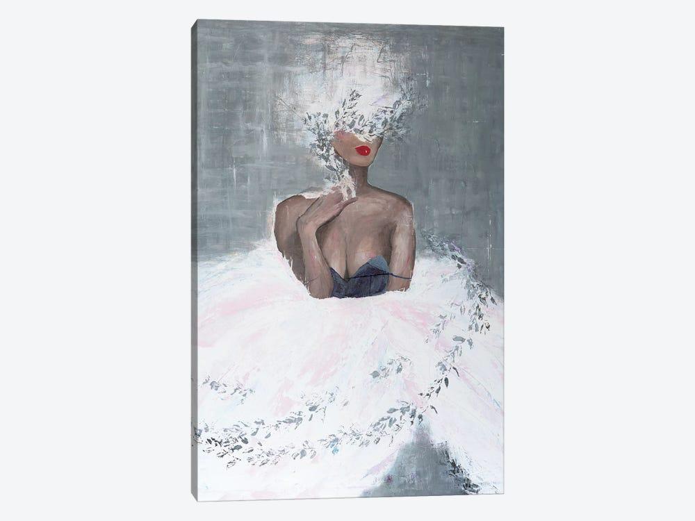Lady Mistletoe by Piia Pievilainen 1-piece Canvas Artwork