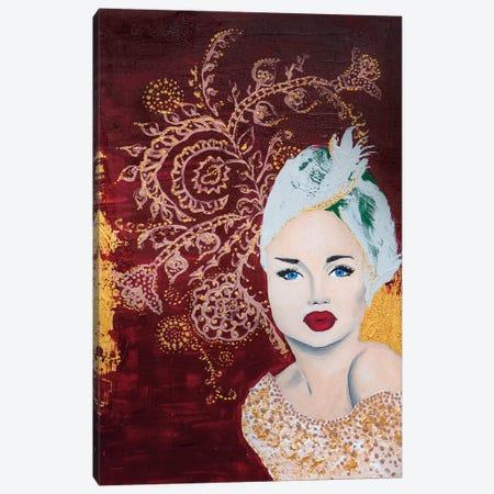 Lady Mystic Canvas Print #PII27} by Piia Pievilainen Canvas Print