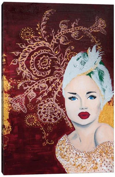 Lady Mystic Canvas Art Print