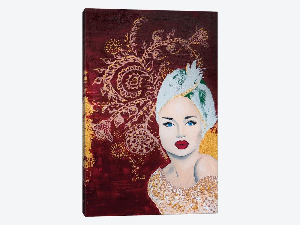 Lady Mystic by Piia Pievilainen 1-piece Canvas Wall Art