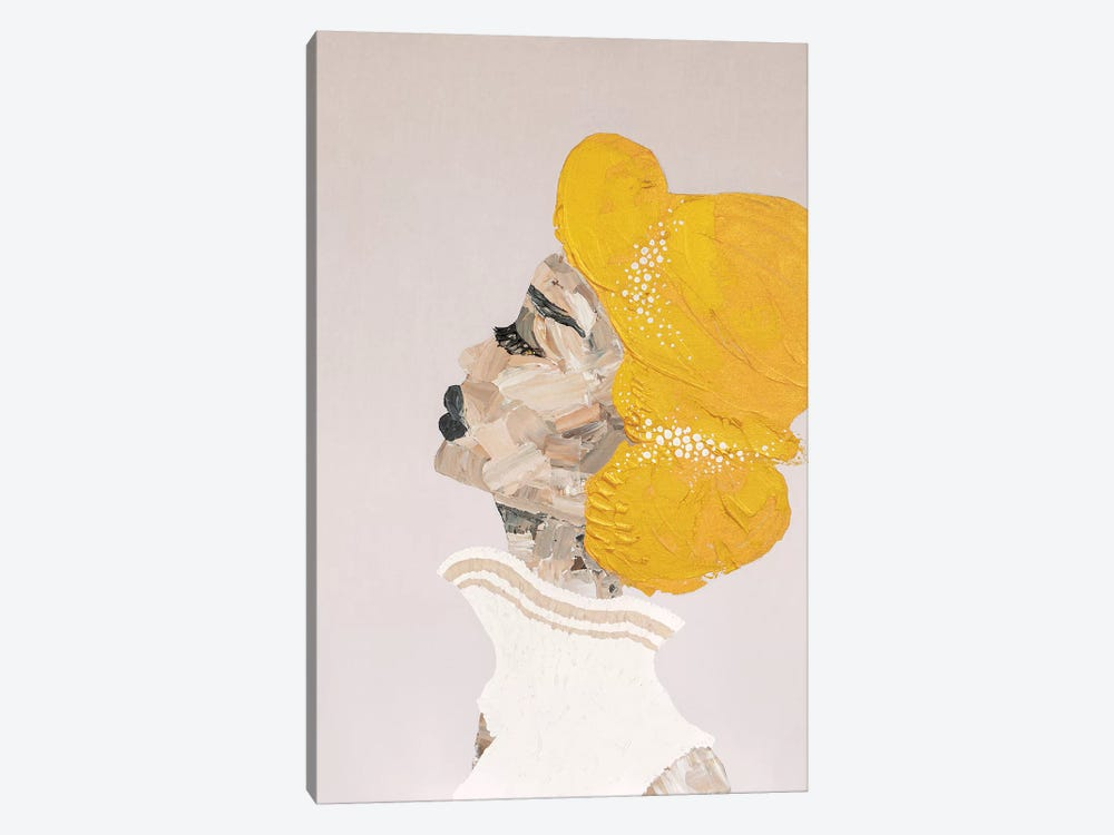 Lady Sophisticate by Piia Pievilainen 1-piece Canvas Art Print