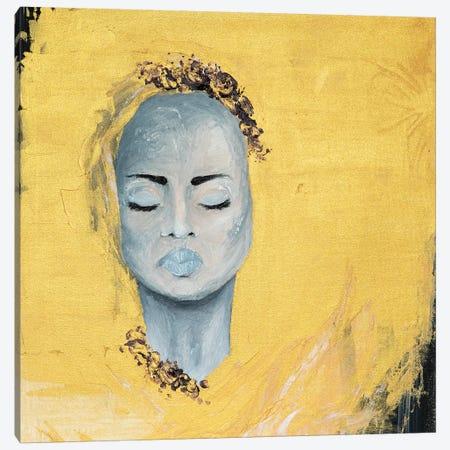 Lady Protest Canvas Print #PII30} by Piia Pievilainen Art Print