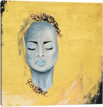 Lady Protest Canvas Art Print