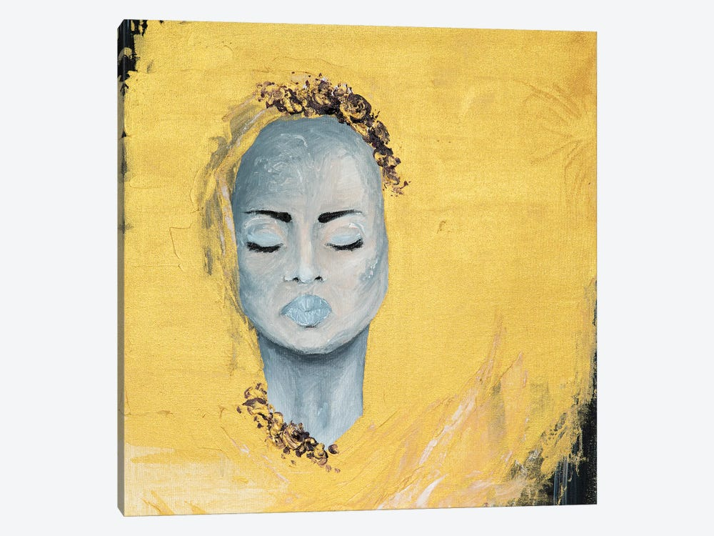 Lady Protest by Piia Pievilainen 1-piece Canvas Wall Art