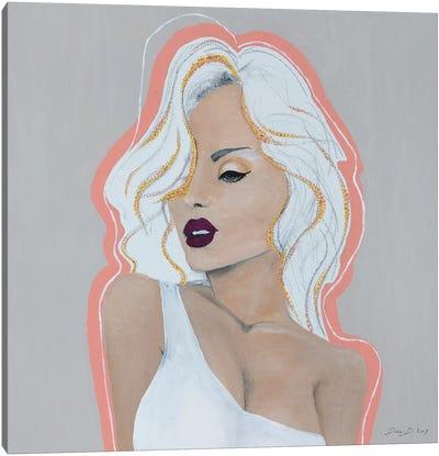 Lady Diamond Canvas Art Print