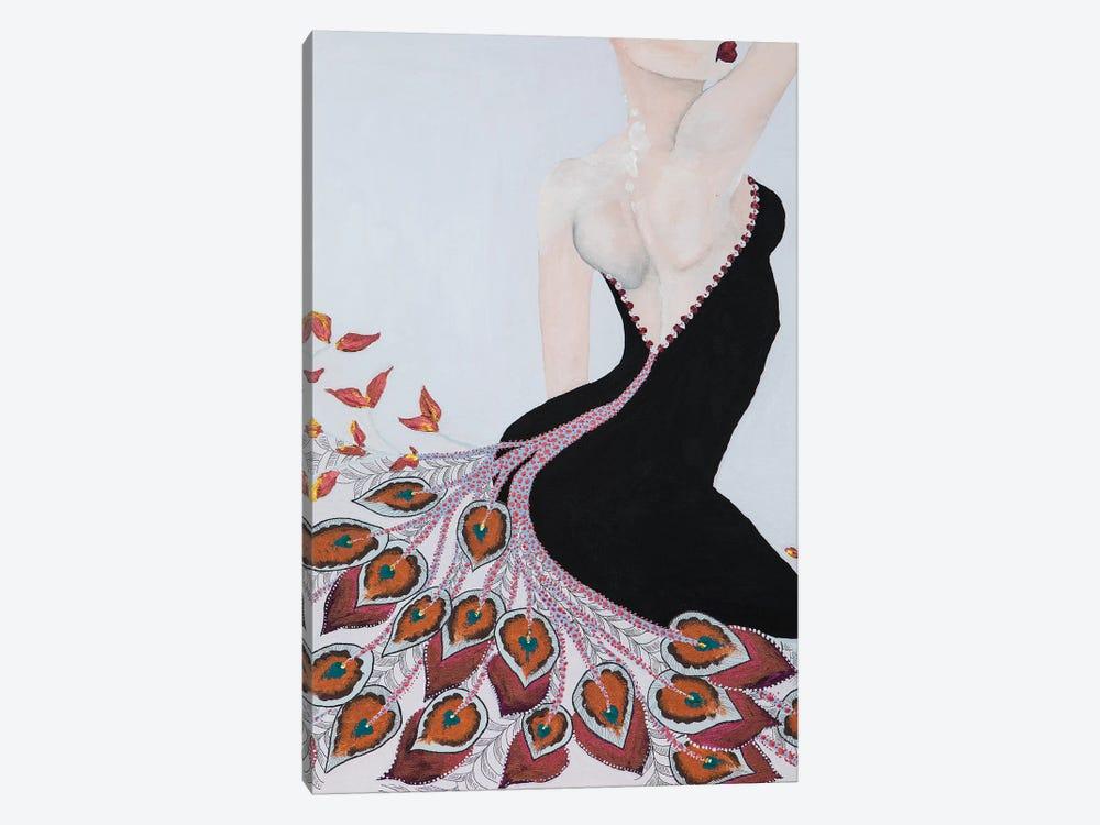 Lady Peacock by Piia Pievilainen 1-piece Art Print