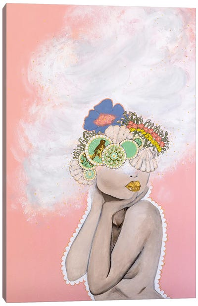 Lady Whimsical Canvas Art Print