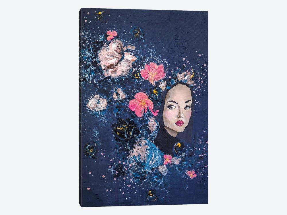 Lady Garland by Piia Pievilainen 1-piece Canvas Art