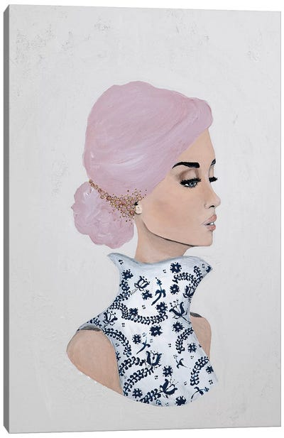 Lady Gloria Canvas Art Print