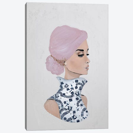 Lady Gloria Canvas Print #PII38} by Piia Pievilainen Canvas Art Print
