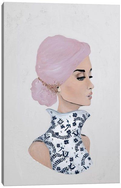 Lady Gloria Canvas Art Print