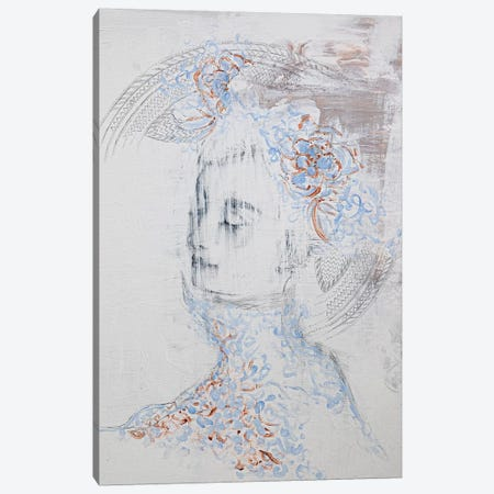 Lady Phantom Canvas Print #PII39} by Piia Pievilainen Canvas Art Print