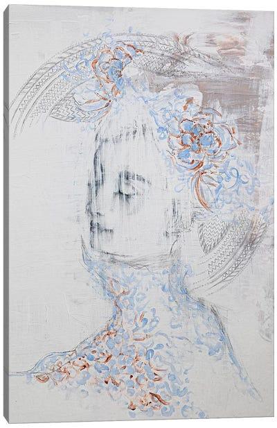 Lady Phantom Canvas Art Print