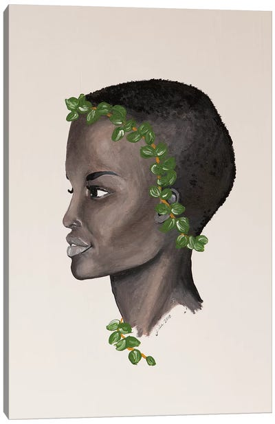 Lady Eucalyptus Canvas Art Print