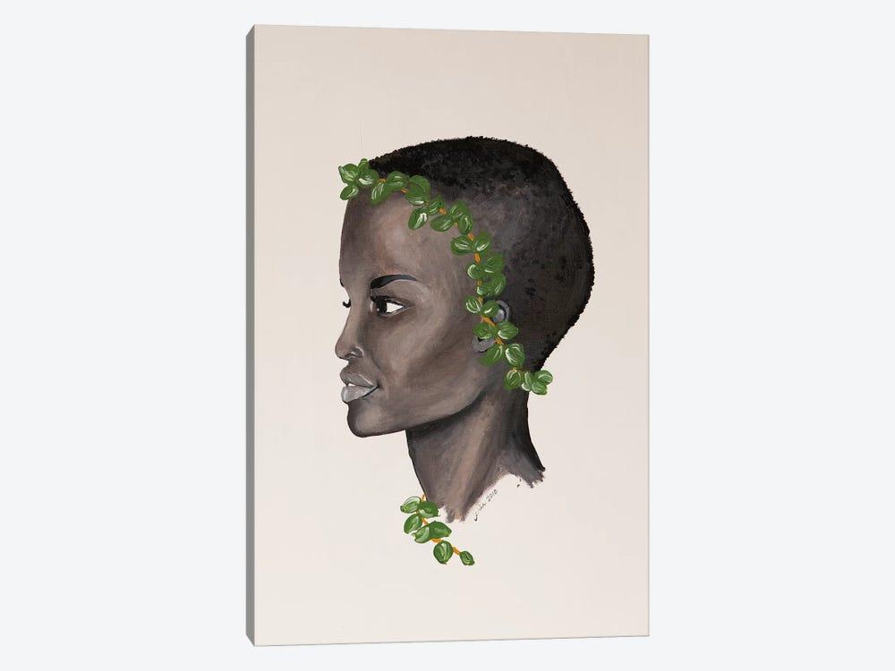 Lady Eucalyptus by Piia Pievilainen 1-piece Canvas Art