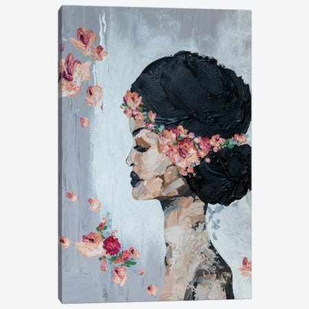 Lady Flora Canvas Print #PII5} by Piia Pievilainen Canvas Print